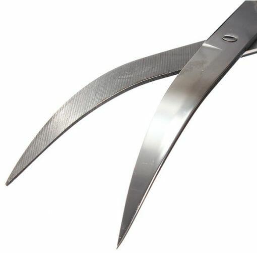 Dalgalı Bitki Budama Makası 23cm Paslanmaz Çelik