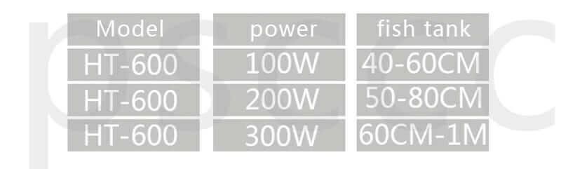 Harici (Inline) Akvaryum Isıtıcısı - Jebo HT-600