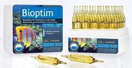 Prodibio Bioptim - Deniz, Tuzlu Su, Resif Akvaryumları için Bakteri Besini