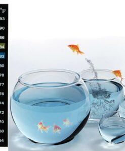 Dijital Yapışkanlı Akvaryum Termometresi